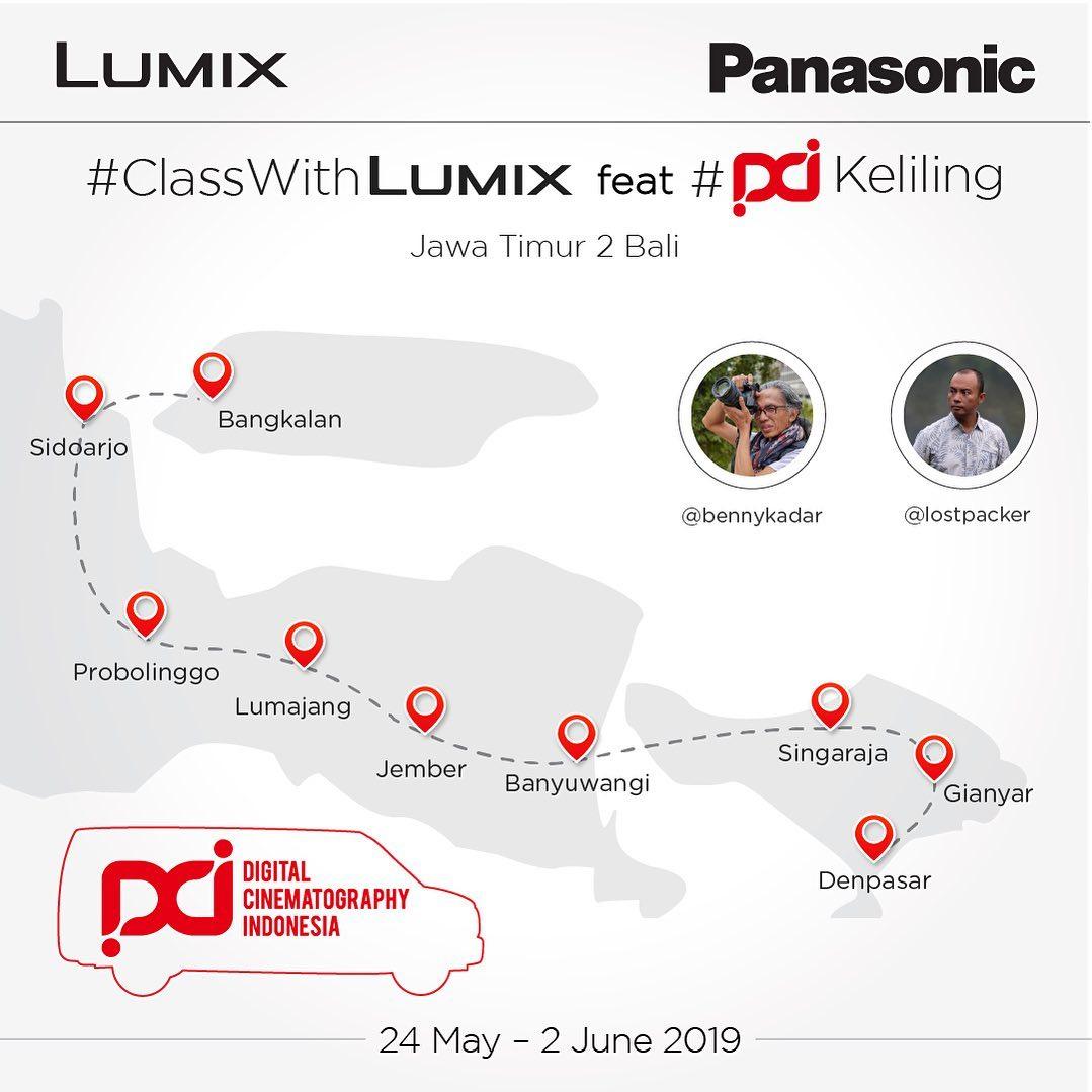 Class With Lumix feat DCI Keliling Jawa Timur 2 Bali
