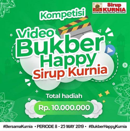 Kontes Video Bukber Happy Sirup Kurnia Berhadiah Total 10 Juta Rupiah