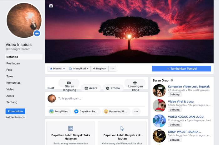 Akun Resmi Fanspage Videografer.com